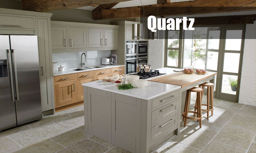 quartz worktops template and fitting service