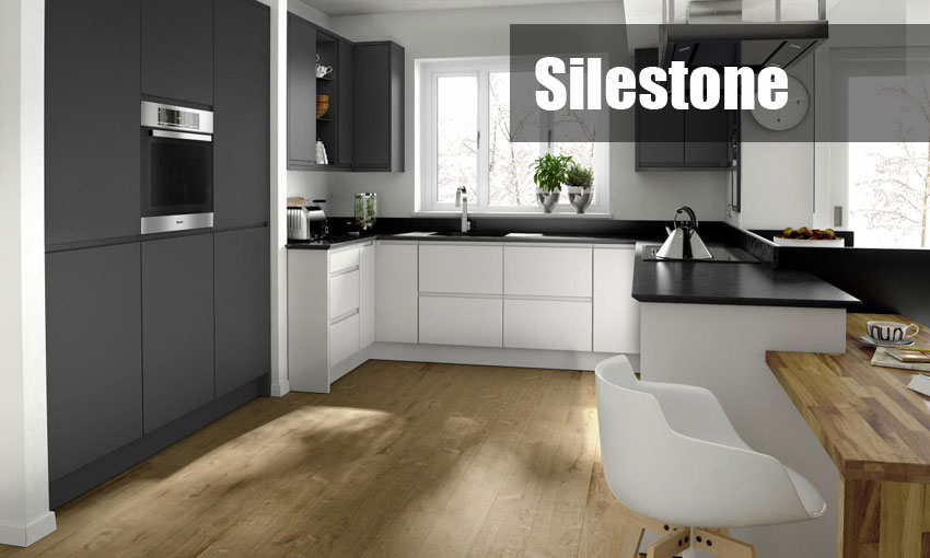 Silestone kitchen worktops | Template and fit service anywhere in the UK