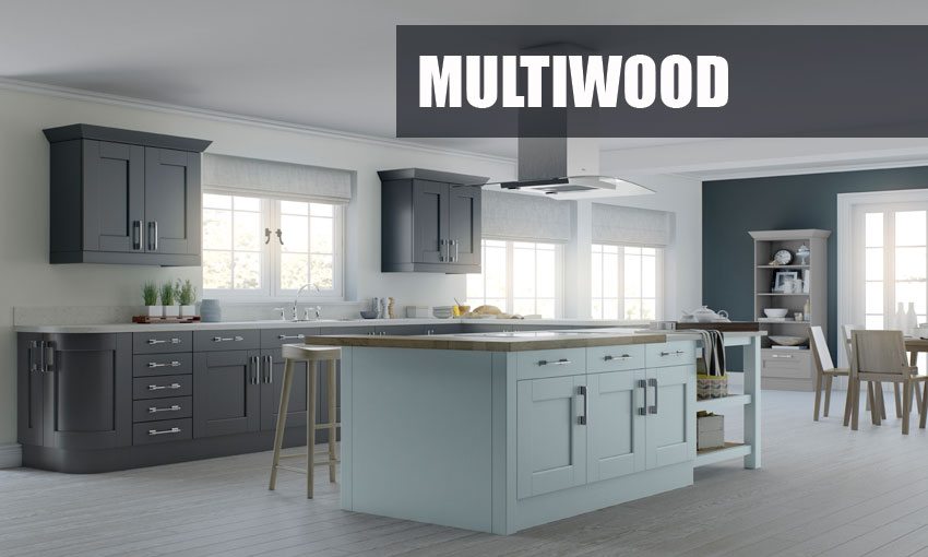 Charming Multi Wood Kitchen Cabinets Part 1 Supply Only
