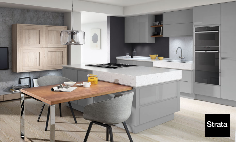 Quartz worktops templated and fitted anywhere in the UK