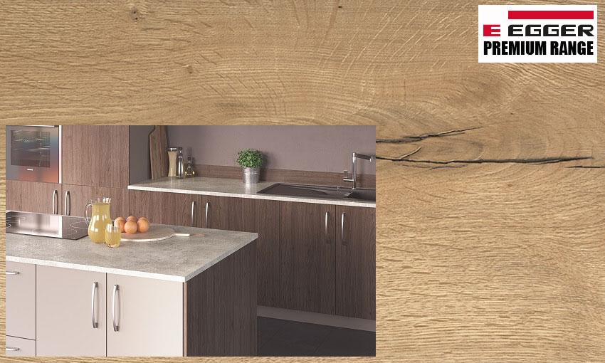 Premium laminate kitchen worktop
